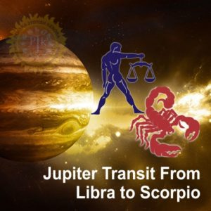 Transit Of Jupiter in Scorpio From 11th Oct  2018 to 5th Nov  2019